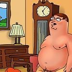 Family Guy hunts ass